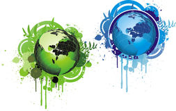Save our planet symbol Royalty Free Stock Image
