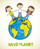 Save planet Stock Photo