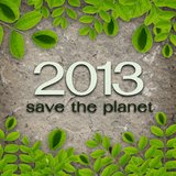 Save the planet Royalty Free Stock Images