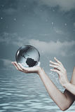 Save the planet. Abstract natural backgrounds Stock Photos