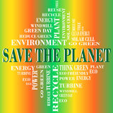 Save the planet Stock Photography