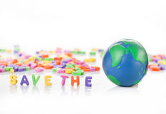 Save the planet concept Stock Photography