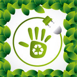 Save planet design Royalty Free Stock Photo