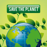 Save planet design Stock Photos