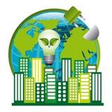Save planet design Royalty Free Stock Photos
