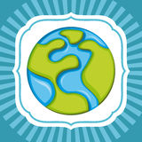Save planet design Royalty Free Stock Photography