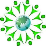 Save planet earth Stock Photography