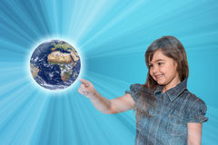 Save the Planet Earth Concept royalty free stock image