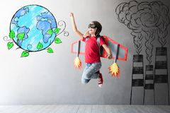 Save the planet. Earth day concept royalty free stock photo