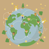 Save the planet earth Royalty Free Stock Image