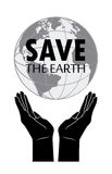 Save the  planet Royalty Free Stock Image