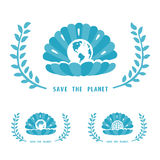 Save The Planet Symbol Royalty Free Stock Photos