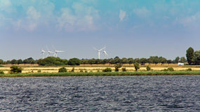 Save the planet. Wind energy coulddo something good for all of us Stock Images
