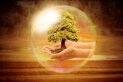 Save planety ziemię Fotografia Stock
