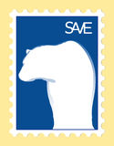 Save polar bears Stock Photo