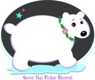 Save the Precious Polar Bears Stock Image