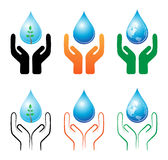 Save raindrop. Illustration of save raindrop concept on white background vector illustration