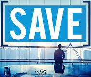 Save Saving Accounting Banking Investment Concept Stock Photography