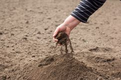 Save the soil Stock Photos