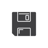 Save symbol. floppy disk icon vector, Royalty Free Stock Photography
