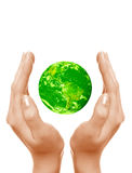 Save The Green Planet Stock Photo