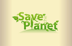 Save The Planet Stock Photo