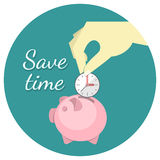 Save Time Concept Royalty Free Stock Photos