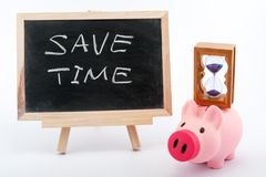 Save time concept Royalty Free Stock Photo