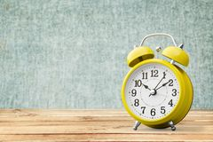 Save time. Savings daylight up retro waking school royalty free stock image