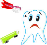 Save the tooth Royalty Free Stock Photography