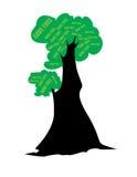 Save tree. Illustration done in adobe illustrator Stock Images