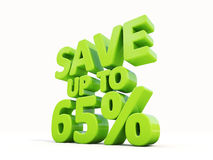 Save up to 65% Stock Photo