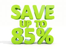 Save up to 85% Royalty Free Stock Photo