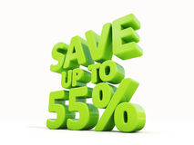 Save up to 55% Stock Photo
