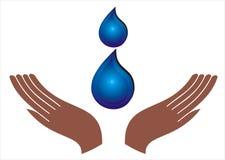 Save water Royalty Free Stock Image