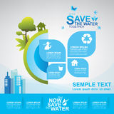 Save The Water Concept Stock Photo