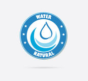 Save water design Royalty Free Stock Photography