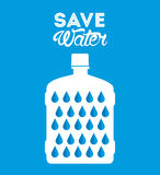Save the water Royalty Free Stock Images