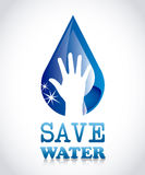Save water Royalty Free Stock Image
