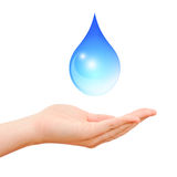 Save water symbol Stock Photo