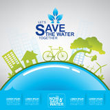 Save Water Vector Stock Images