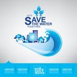 Save Water Vector Stock Photos
