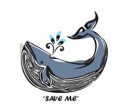 Save The Whale Royalty Free Stock Photos