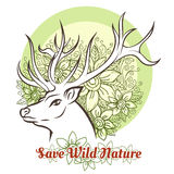 Save Wilde Nature Royalty Free Stock Images