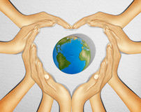 Save the world royalty free stock photo