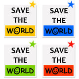 Save the world Stock Photography
