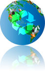 Save the world stock illustration