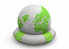 Save the World - 3D Royalty Free Stock Photo