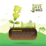 Save the World, Ecology Concept Go Green Stock Photos