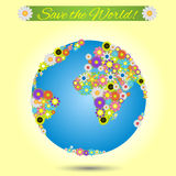 Save the world Royalty Free Stock Photos